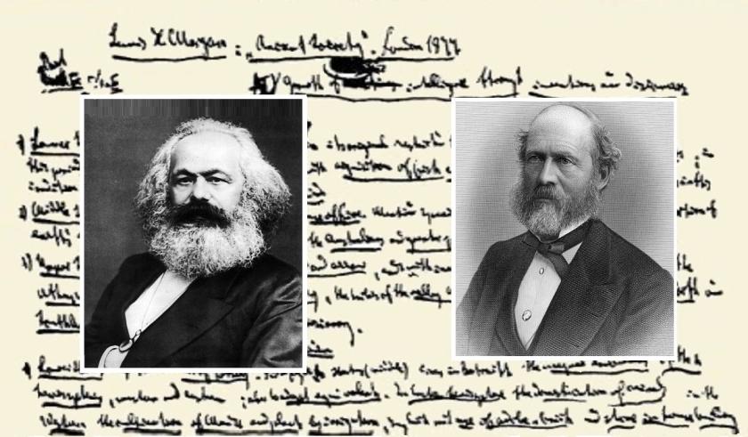 گزیدهبرداریهای قوم شناختی مارکس: دفتر مورگان
